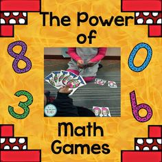 The Power of Math Games by Live-Love-Serve-Teach!