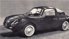 Fiat Abarth 500 GT Coupe (Zagato), 1957