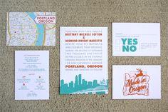 Portland Oregon Wedding Invites (1)