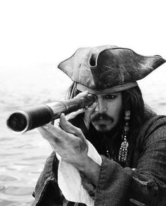 "Captain Jack Sparrow. Pirates of the Caribbean. Very weird, funny, liar, betrayer, staggering all the time because of too much rum. But he has his own principle about moral. ""Cruel is only a matter of perspective."""