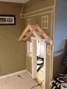 Stylish Eve DIY Projects- Turn Your Space Under the Stairs into a Playhouse_2