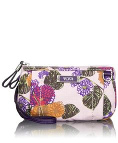 Tumi Luggage Voyaguer Vienna Triple Compartment Wristlet