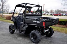 New 2016 Can-Am Defender DPS HD10 Mossy Oak Break-up Cou ATVs For Sale in Wisconsin. 2016 Can-Am Defender DPS HD10 Mossy Oak Break-up Country Camo, NEW 2016 DEFENDER IN STOCK NOW!!! 2016 Can-Am® Defender DPS Mossy Oak Break-up Country Camo HD10 COMFORT AND CONTROL Take control with the Defender DPS that features comfortable Dynamic Power Steering (DPS), lightweight wheels and tires, adaptable storage, Visco Lok and more to make your job easier. Features may include: Dynamic Power Steering…