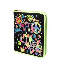 Justice Clothes for Girls Outlet | Girls Clothes | BN-MULTI LOVE HOPE BINDER | Shop Justice