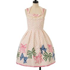 http://www.wunderwelt.jp/products/detail8044.html ☆ ·.. · ° ☆ ·.. · ° ☆ ·.. · ° ☆ ·.. · ° ☆ ·.. · ° ☆ Ribbon pattern dot dress Emily Temple cute ☆ ·.. · ° ☆ How to buy ☆ ·.. · ° ☆ http://www.wunderwelt.jp/user_data/shoppingguide-eng ☆ ·.. · ☆ Japanese Vintage Lolita clothing shop Wunderwelt ☆ ·.. · ☆ #casuallolita