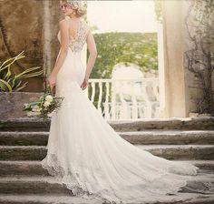 2016 Sexy Lace Mermaid Wedding Dresses Long Bridal Dress Vestido De Noiva Robe De Mariage