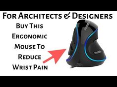 Best ergonomic mouse desgined to reduce wrist pain - carpal tunnel syndorome. Perfect for designers and architects for CAD, modelling or revit work. Best Ergonomic Mouse, Wrist Pain, Carpal Tunnel Syndrome, Muscle Strain, Must Have Tools, Best Laptops, Hand Shapes, Logitech