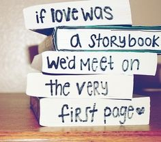 This would be awesome, rather than having to read an entire book and realizing you have to move on to another to find true love!!