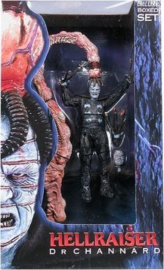 Dr. CHANNARD HELLRAISER movie series 3 action figure Deluxe BOXED set