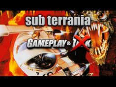 Sub Terrania gameplay for the Sega Genesis