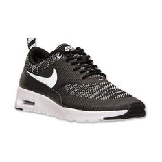 Women's Nike Air Max Thea Jacquard Running Shoes (1,190 MXN) ❤ liked on Polyvore featuring shoes, athletic shoes, lightweight shoes, nike athletic shoes, nike footwear, synthetic shoes y athletic running shoes