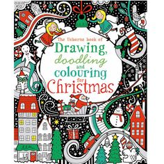 See all Christmas books for children from Usborne Publishing, including activity books, musical books and cards and decorations to make. Art Books For Kids, Best Children Books, Art For Kids, Christmas Doodles, Christmas Books, Christmas Holidays, Christmas Ideas, Christmas Activities, Book Activities