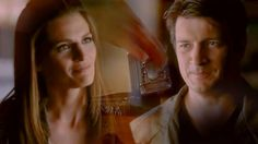 Castle & Beckett // Better Place.  You taught me to be my best self. To look forward to tomorrow's adventures.  New YouTube video (link in bio) 💙  #castle #beckett #caskett #katebeckett #richardcastle #nathanfillion #stanakatic #tvcastlealways