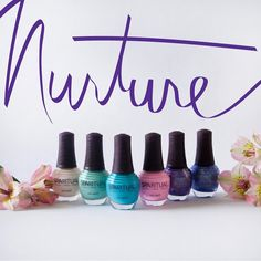 The newness of springtime offers a sweet opportunity to nurture by practicing personal Slow Beauty routines. Our new collection for Spring, Nurture, includes six colors that celebrate our season of nurturing with a shady softness, an offbeat turquoise and opulent darks.