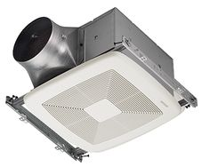 Broan Ultra ventilation fan.  not for design, but for efficiency and small package!
