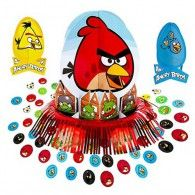 Angry Birds birthday party Table Decorating Kit for a girls birthday party or boys birthday party. Bird Birthday Parties, Birthday Party Tables, Boy Birthday, Birthday Decorations, Birthday Cards, Discount Party Supplies, Online Party Supplies, Party Stores, Party Packs