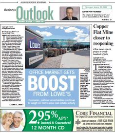 Office Market Gets Boost From Lowe's - 4/23/12