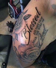 Scripture tattoos for men scripture / bible verse tattoos for men. Dope Tattoos, Hai Tattoos, Body Art Tattoos, Henna Tattoos, Temporary Tattoos, Tattoo Art, Black Men Tattoos, Tatoos Men, Small Girly Tattoos
