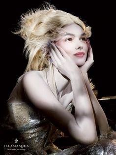 Makeup Brand: Illamasqua.  Collection:  ART OF DARKNESS.  Creative Director:  Alex Box, MUA.