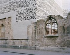 The Kolumba Museum in Cologne, Germany by Swiss architect Peter Zumthor. Integrating new material and form with bombed-out church ruins.