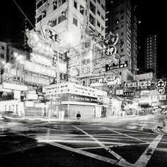 City of Neon Lights, Hong Kong by Martin Stavars