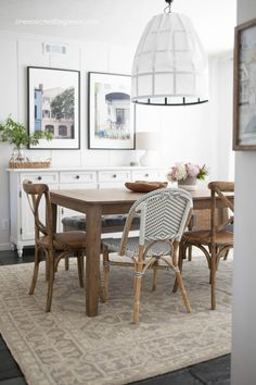 Dining Room Inspiration Get All The Details About This Casual Makeover
