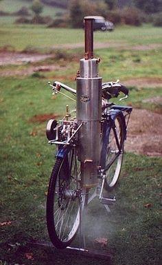 Steam bike