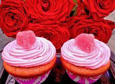 Ystävänpäivän kuppikakku - Happy Valentine's Day - cupcake