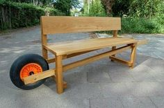 Rolling Garden Bench of my Dreams . . . | Content in a Cottage