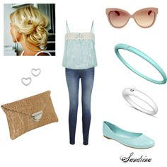 """""""Turquoise"""" by sandrinadcm on Polyvore"""