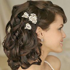 bridal hairstyles for short to medium hair 4 Wedding medium to short hairstyles | hairstyles http://girlyinspiration.com/
