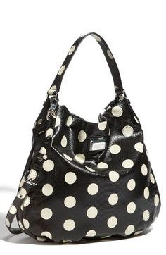 MARC BY MARC JACOBS 'Dotty Snake Hillier' Faux Leather Hobo available at #Nordstrom