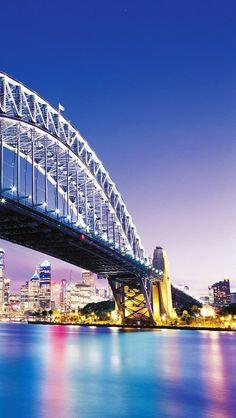 Sydney Bridge.