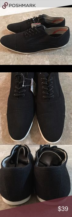 New Men's Casual Shoes by Zara Man Brand New!!   With Tags Attached!!   High Quality Canvas Material!! Zara Shoes Oxfords & Derbys