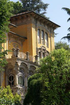 ღღ Torino, Corso Giovanni Lanza, Palazzina Scott von Pietro Fenoglio (Villa Scott by Pietro Fenoglio)