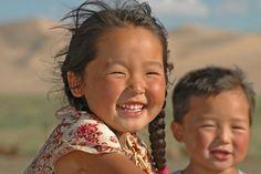 Mongolian smiles::                                                                                                                                                     Mais