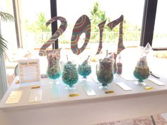 Oh the Places You'll Go Candy Buffet