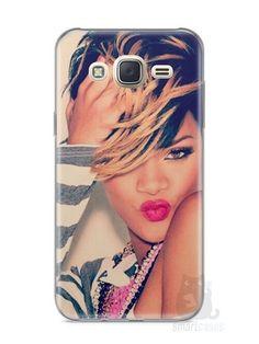 Capa Capinha Samsung J7 Rihanna #1