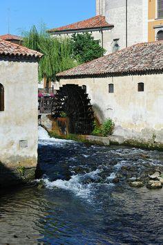 Water Wheel - Portogruaro, Veneto, Italy