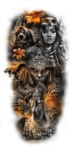 Do you have an amazing design idea or maybe an existing tattoo that you hate and really want covered? if so Custom tattoo design can take all of your ideas and bring them to life tattoo hombre Aztec full leg piece Aztec Tattoos Sleeve, Egyptian Tattoo Sleeve, Best Sleeve Tattoos, Aztec Tribal Tattoos, Full Leg Tattoos, Geometric Tattoos, Chicano Tattoos, Body Art Tattoos, Tattoos Skull