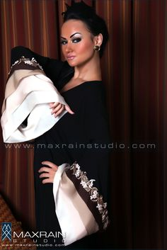 JS Couture | Abayas by Max Rain, via Behance