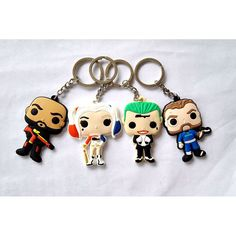Suicide Squad Keychain Harley Quinn Key Chain  $7.95 and FREE shipping  Get it here --> https://www.herouni.com/product/suicide-squad-keychain-harley-quinn-key-chain/  #superhero #geek #geekculture #marvel #dccomics #superman #batman #spiderman #ironman #deadpool #memes