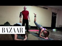 Victoria's Secret Workout, Butt Exercises With Trainer Justin Gelband, Fit How To - YouTube