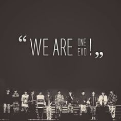 We are one exo!!