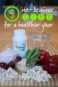 5 No-Brainer Tips For a Healthier Year - is 2015 the year that you're going to stick with your New Year's Resolutions and get healthy? Are you doing these 5 simple things? #ad