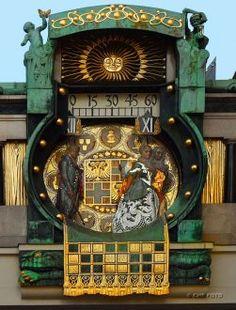 Vienna, anker-clock-in-hoher-market, Vienna, Austria Guarda le Offerte! Art Nouveau, Baroque Architecture, Beautiful Architecture, Monuments, Austria Travel, Mountain Village, European Tour, Central Europe, Salzburg