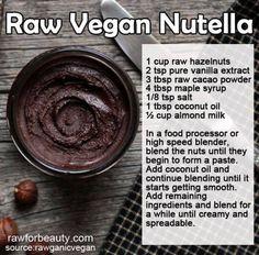 #Raw vegan Nutella