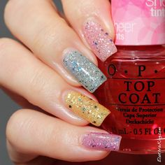OPI Muppets World Tour & OPI Sheer Tints