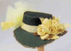 Nancy Manders Miniature Hat - $26
