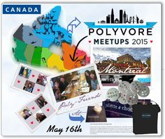 """""""Meetup Montreal"""" by sisilem on Polyvore"""